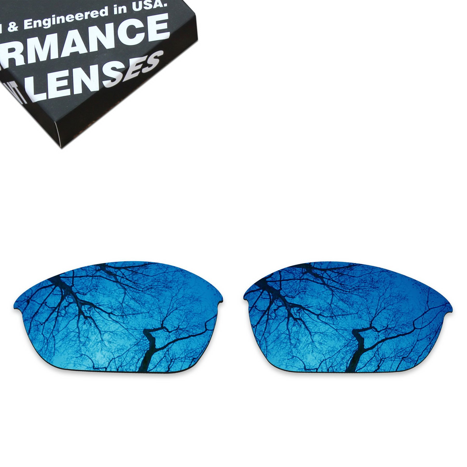 ToughAsNails Polarized Lens Replacement for Oakley Half Jacket 2.0 Sunglass - More Options by ToughAsNails