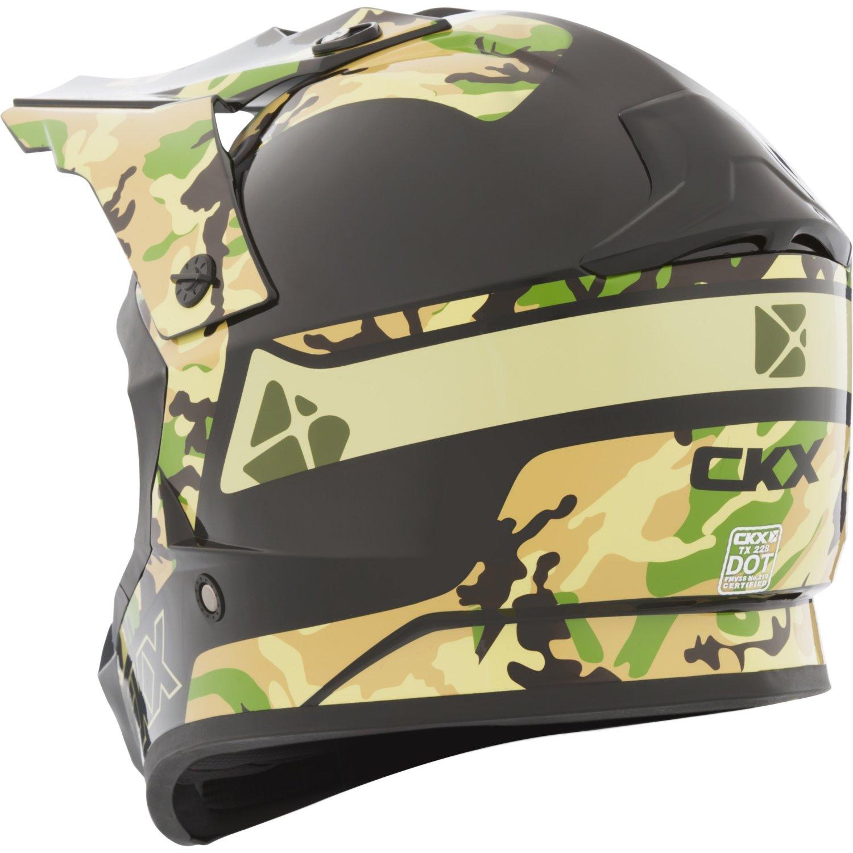 Fuel CKX TX228 Off-Road Helmet Part# FS-603
