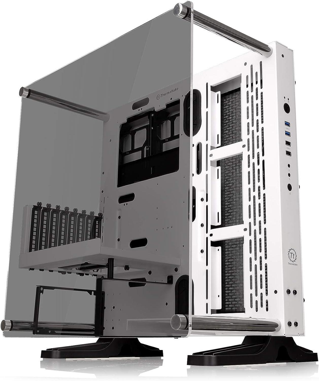 Thermaltake Core P3 TG - Caja de PC (Mid Tower, Wallmount, LCS Ready) Color Blanco (Snow): Amazon.es: Informática