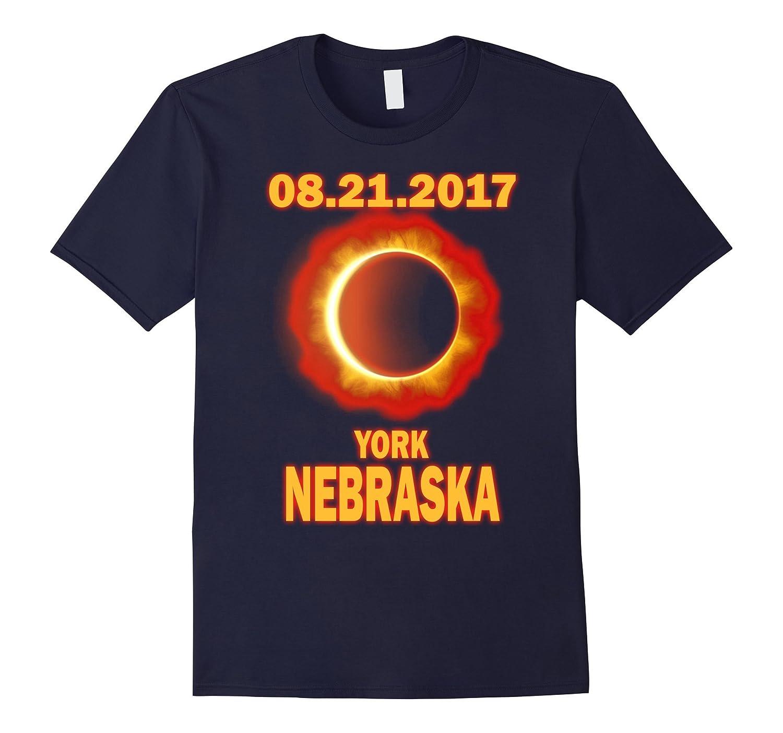 York Nebraska NE Total Solar Eclipse August 21st 2017 T Shir-Art