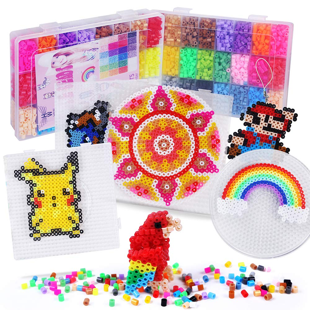 Details about H&W 24 Colors 5mm Fuse Bead Set Compatible Kids, Add Color  Number & Supply