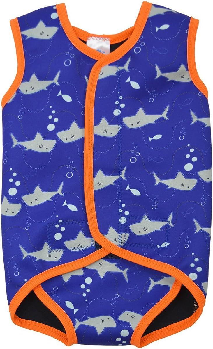 Splash About Jammer Wetsuit Shorty Big Kids Swim Happy Nappy 2mm Neoprene UPF50+