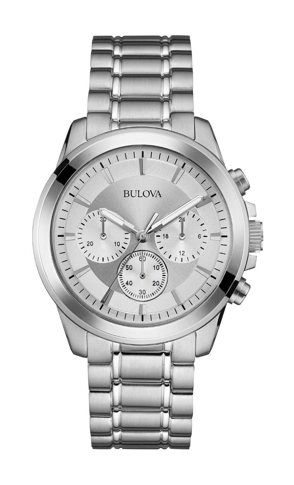 Bulova Men's 96A176XG Quartz Chronograph 40mm Watch (Certified Refurbished)