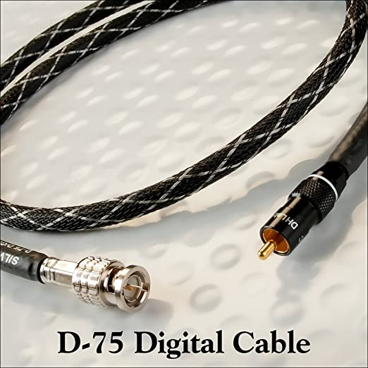 DH laboratorios D-75 Digital Cable de audio RCA-BNC 3,0 meter por Silver Sonic: Amazon.es: Electrónica