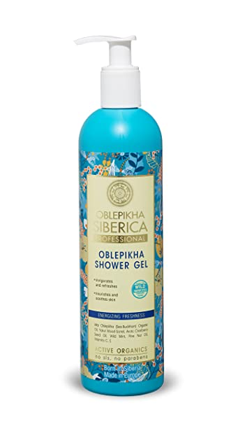 Natura Siberica Oblepikha Shower Gel Energizing Freshness 400ml by Natura Siberica