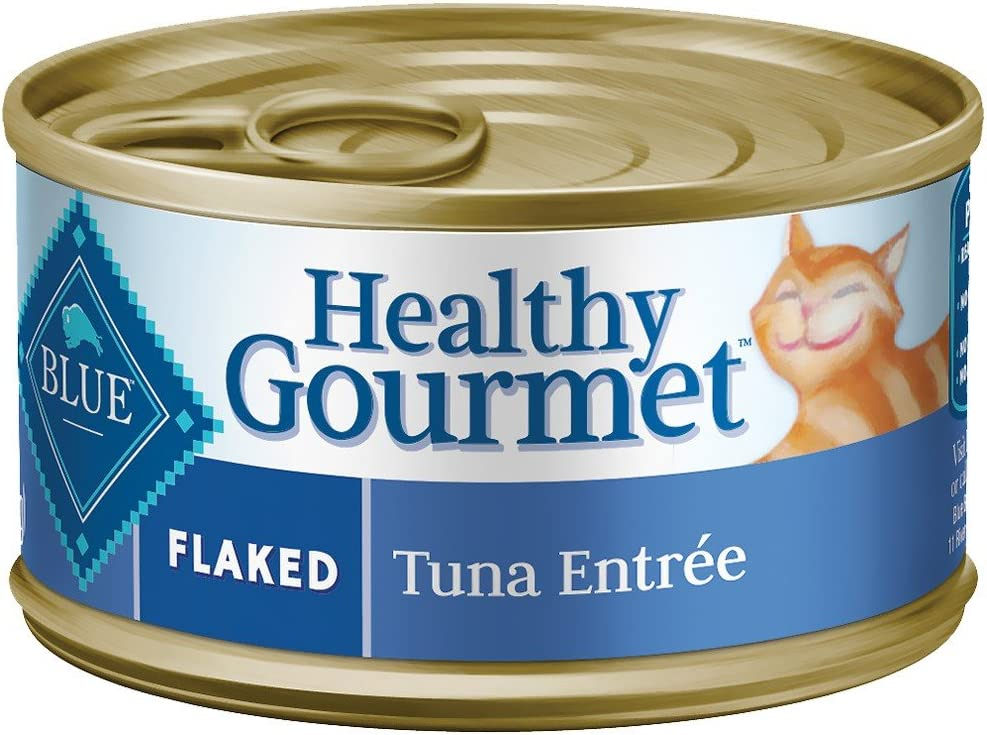 Healthy Gourmet Cat Flaked Tuna Entree 24/5.5oz