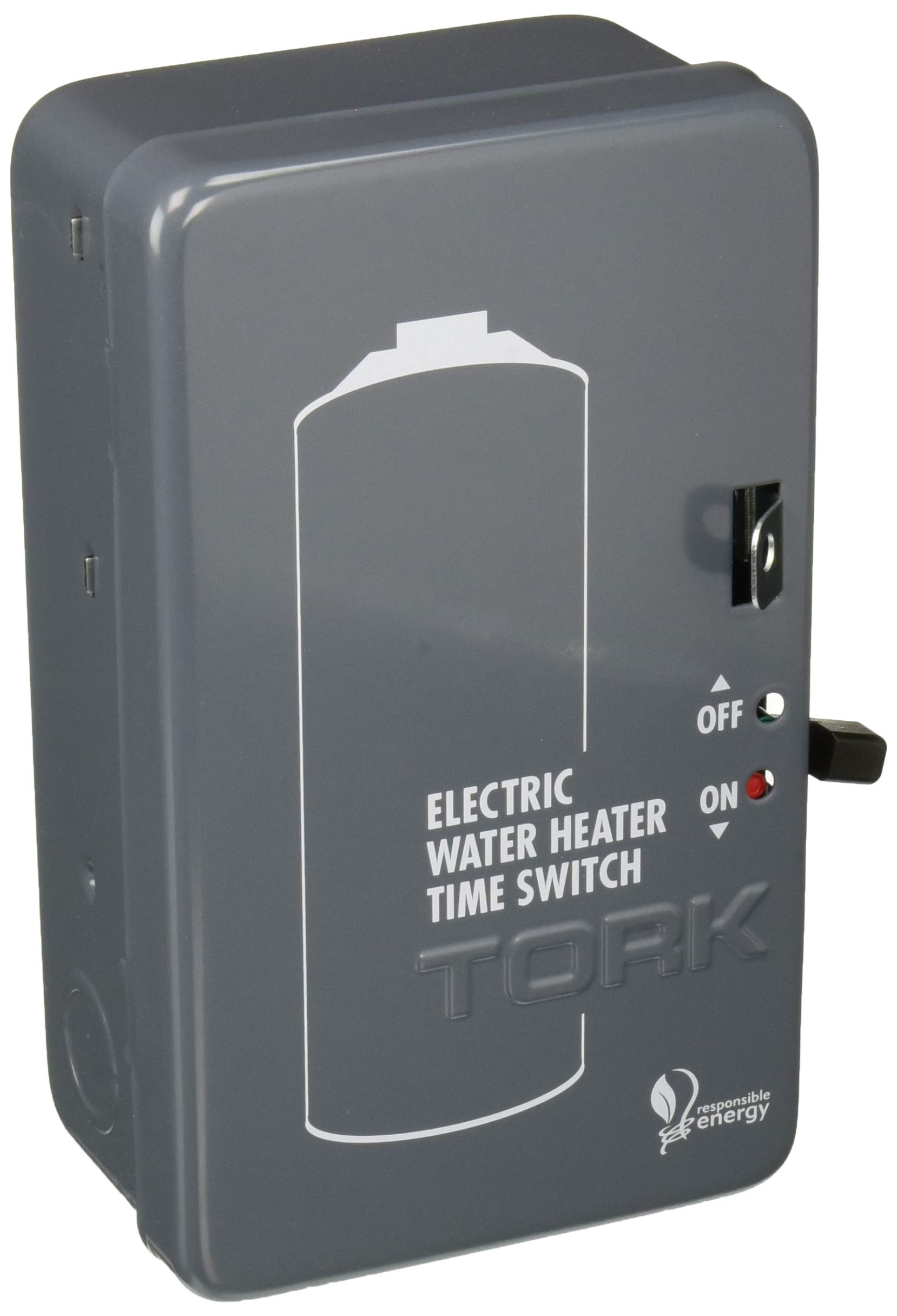 Tork NSI WH2B Mechanical Water Heater Time Switch, 24-Hour, 208/250V, 40A, DPST