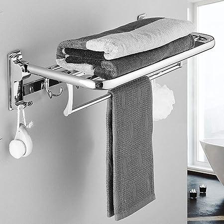 Bjimn Estante de toalla de acero inoxidable Estante de toalla ...