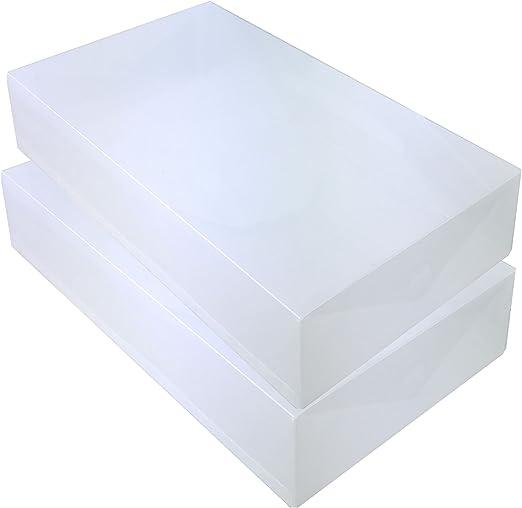 DynaSun 2X PP384 Cajas de Almacenaje para Botas Apilable Plegable ...