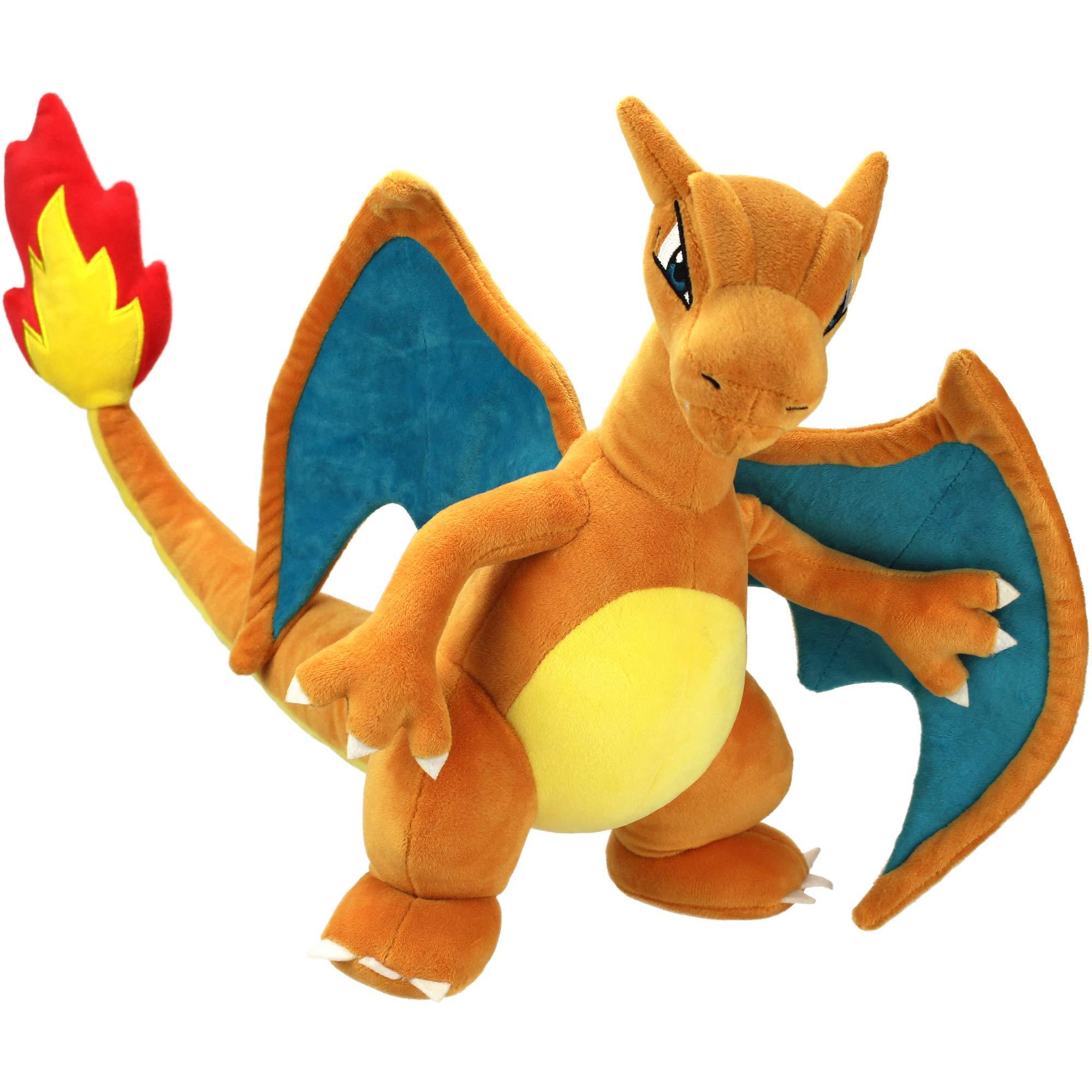 Pokémon Charizard Plush Stuffed Animal Toy - Large 12'' - Ages 2+ by Pokemon
