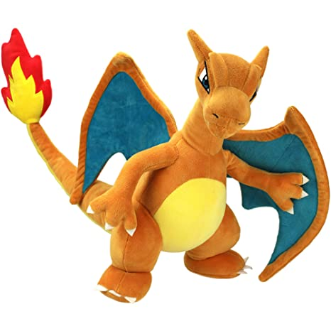 1d3de4e80c2 Amazon.com  Pokémon Charizard Plush Stuffed Animal Toy - Large 12