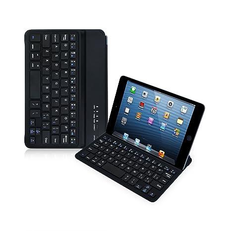 LEICKE Sharon | Funda ultrafina con teclado para iPad mini 3, iPad Mini 2 retina