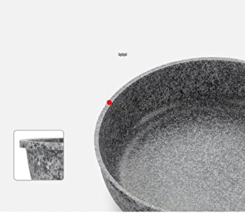 LLW-Frying Pans Sartén Sartenes Maifan Stone Pan Sartén Antiadherente Filete Frito Pancake Tortilla De Sartén Cocina Pequeña Estufa De Gas Universal ...