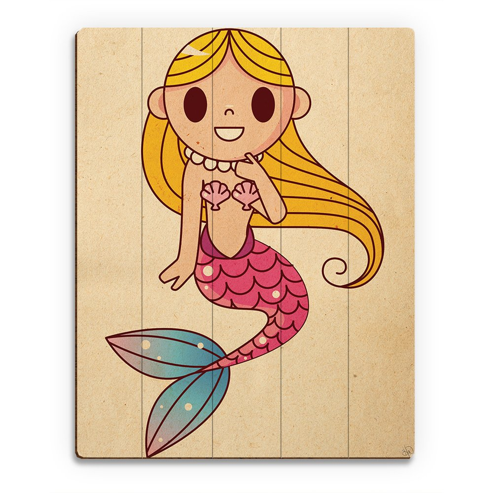 Amazon.com: Little Mermaid Drawing Cartoon Graphic for Childs Kids ...