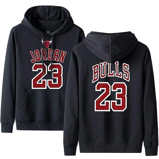 Chicago Bulls Sudaderas de Baloncesto, Hombre Jordan ...