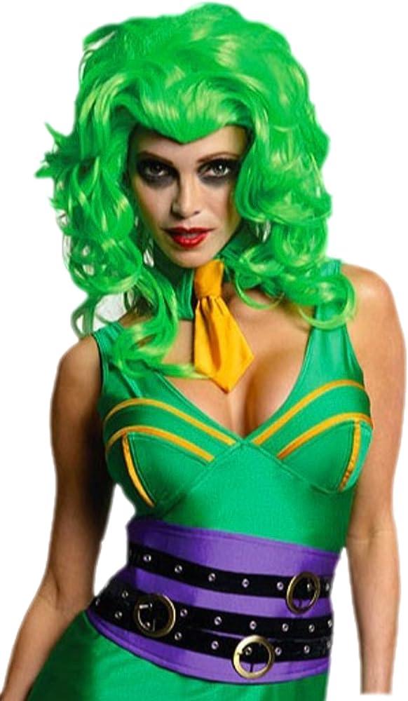 erdbeerloft – Mujer Super Orbe Joker Gangster Disfraz con peluca ...