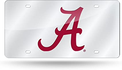 Alabama Crimson Tide Two Officially Licensed NCAA License Plate Screw Caps