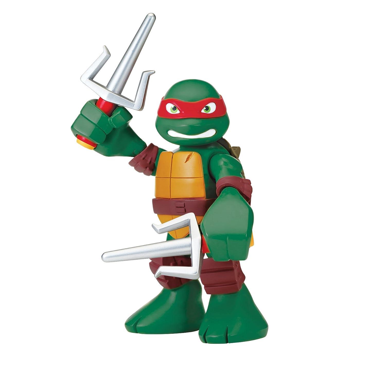 Amazon.com: Teenage Mutant Ninja Turtles Pre Cool Half Shell Heroes 6 Inch  Raphael Talking Turtles Figure: Toys U0026 Games