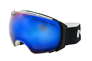 afb4caafd90 Ocean Sunglasses Aconcagua - gafas de esquí - Montura   Blanco - Lentes   Azul  Espejo (YH-3502.1)  Amazon.es  Deportes y aire libre