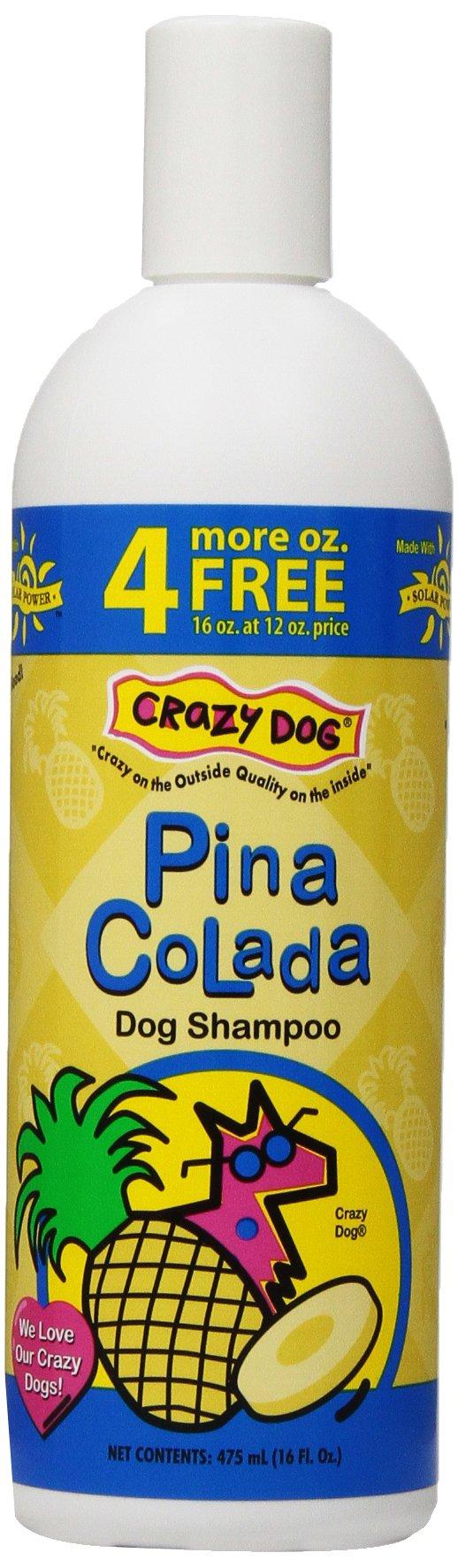 Crazy Dog Pina Colada Shampoo for Dogs, 16-Ounce