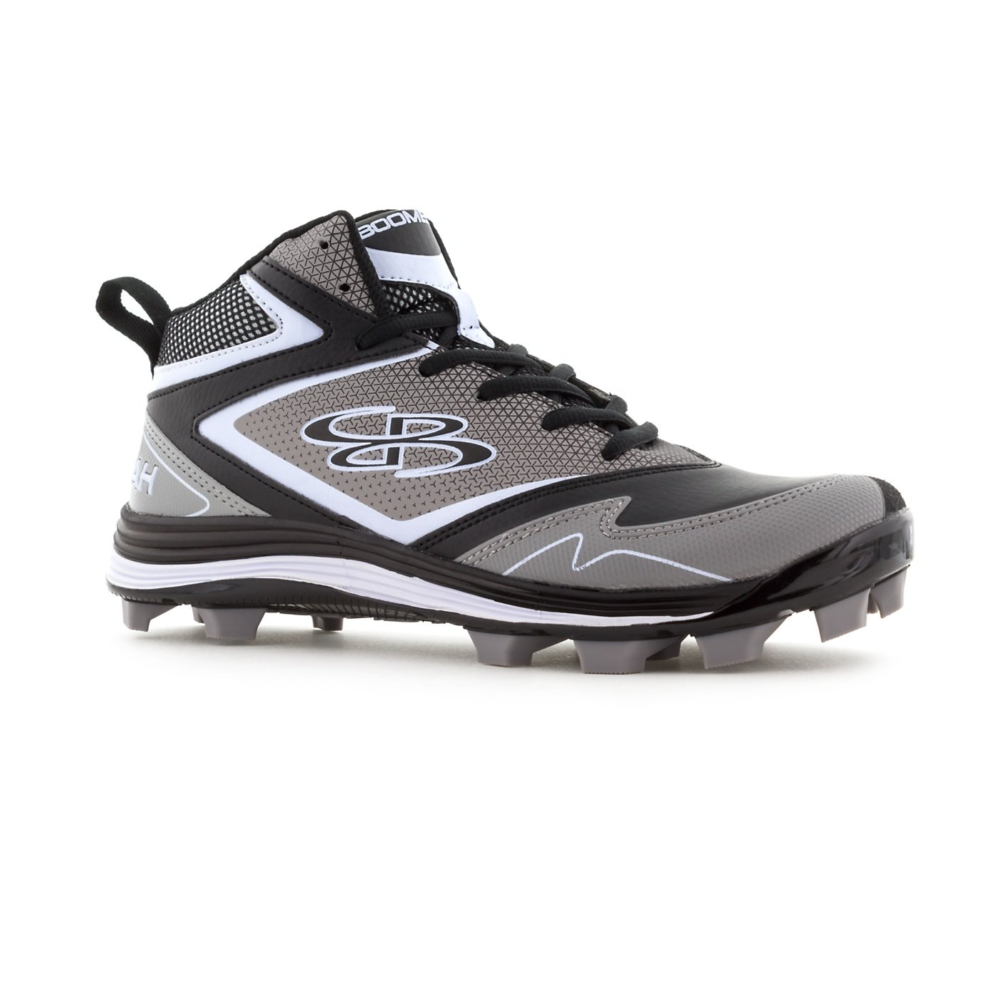 3a45d496a Amazon.com  Boombah Women s A-Game Molded Mid Cleats - 8 Color Options - Multiple  Sizes  Sports   Outdoors