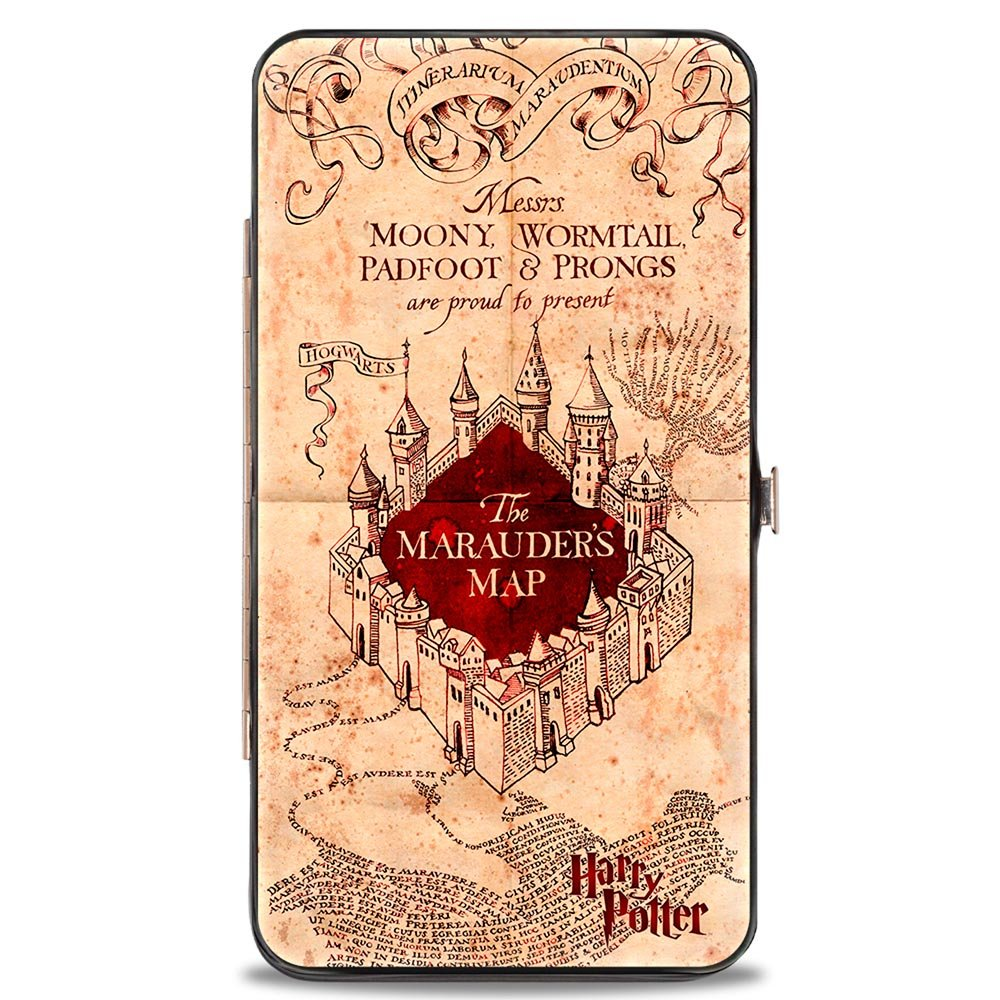 Buckle-Down Hinge Wallet - Harry Potter HW-HPBE