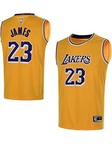 558912062 Outerstuff Youth 8-20 Los Angeles Lakers  23 LeBron James Kids Jersey