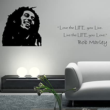 DreamKraft The Legend Bob Marley Wall Sticker For Kids Room