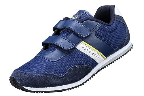 Hugo Boss - Zapatillas de Deporte Unisex Niños, Azul (Azul), 40 EU: Amazon.es: Zapatos y complementos