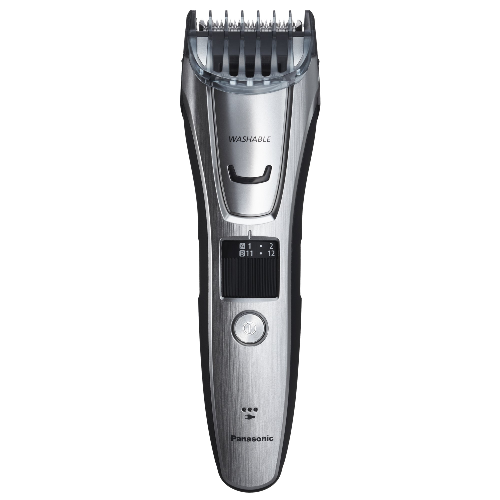 Panasonic ER-GB80-S Body and Beard Trimmer, Hair Clipper, Men's, Cordless/Corded Operation with 3 Comb Attachments and 39 Adjustable Trim Settings, Washable by Panasonic (Image #4)