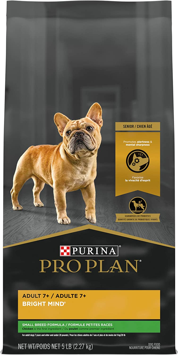 Purina Pro Plan Cognitive Health Small Breed Senior Dry Dog Food, Chicken & Rice Formula - 5 lb. Bag