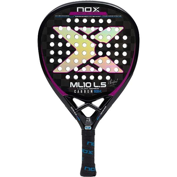 NOX AR10 Luxury L4 2018 Pala de pádel, Mujer, Negro, Talla Única ...