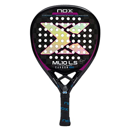 NOX Pala de pádel ML10 Luxury L.5 Carbon 18K by Miguel Lamperti