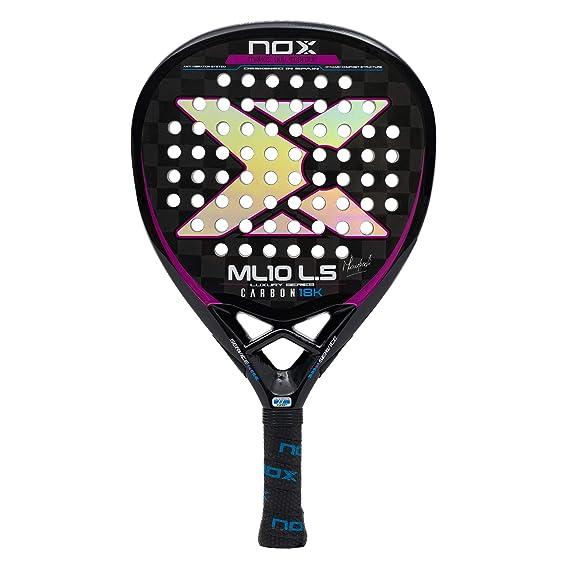 Nox ML10 Luxury L5 Carbon 18k Palas, Adultos Unisex, Negro, 375: Amazon.es: Deportes y aire libre