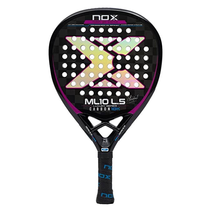 Amazon.com: NOX Paddle ML10 - Raqueta de tenis (carbono, 18 ...