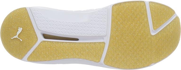c5c7960bdca31 Women's Fierce White/Gold Cross-Trainer Shoe