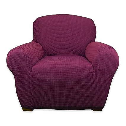 Amazon Com Bella Covers Premium Quality Stretch Armchair Slipcover
