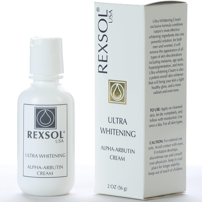 REXSOL Ultra Whitening Alpha Arbutin Cream by REXSOL REXSOL USA