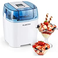 Klarstein Creamberry 4-in1 Eiscremebereiter | Turbo Eismaschine Eisbereiter | auch für Frozen Joghurt, Milkshakes und als Flaschenkühler | 1.5L Fassungsvermögen