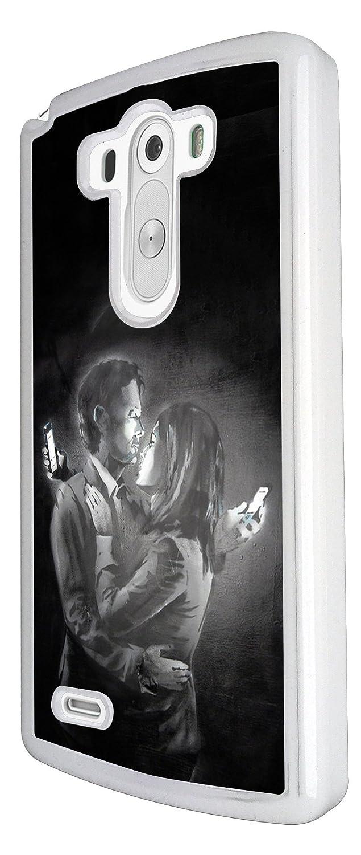 LG G3 de grafiti de Banksy Mobile diseño de los amantes de ...