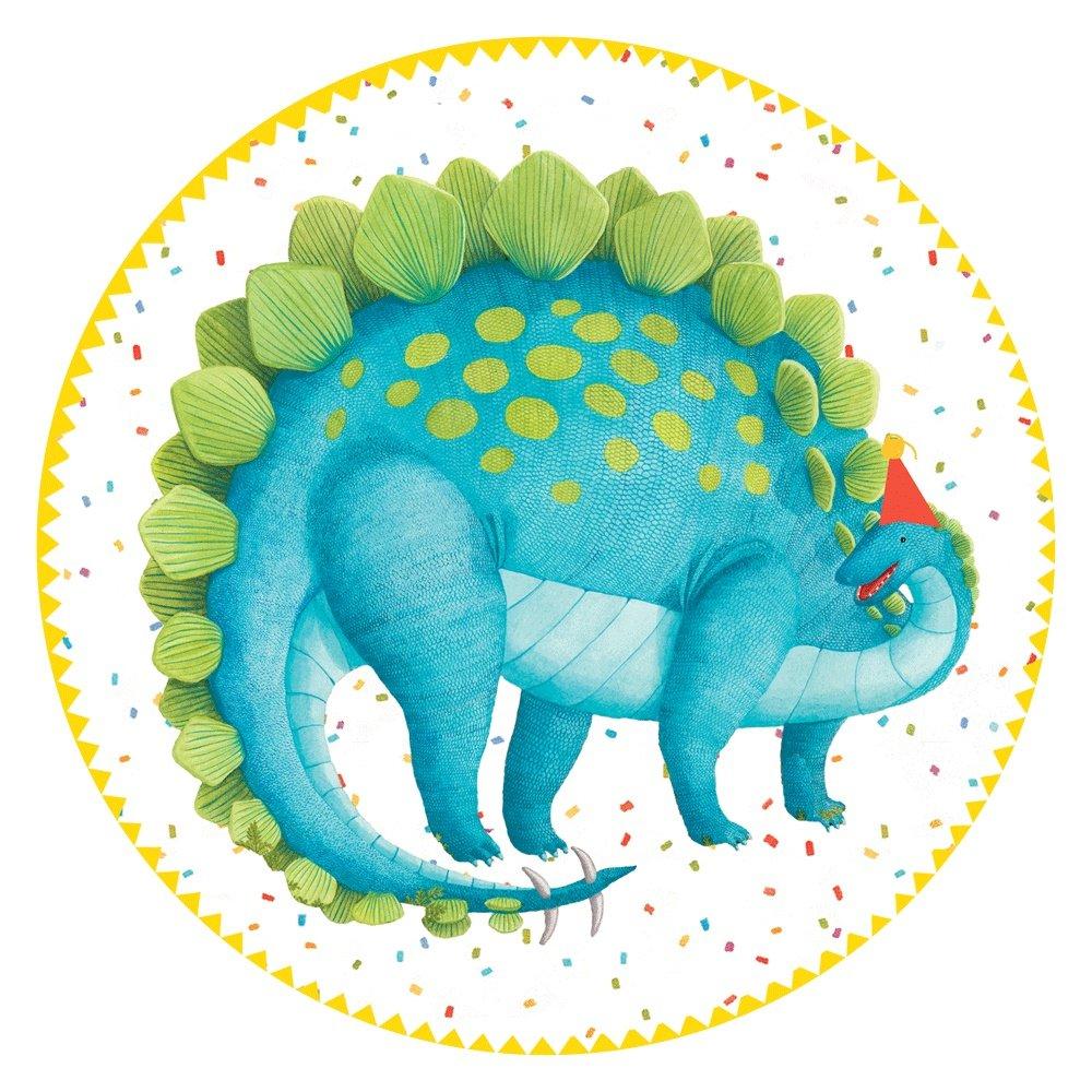Amazon Paper Plates Dinosaur Party Supplies Kids Birthday Ideas Cake 8 Inch Pk 16 Kitchen Dining