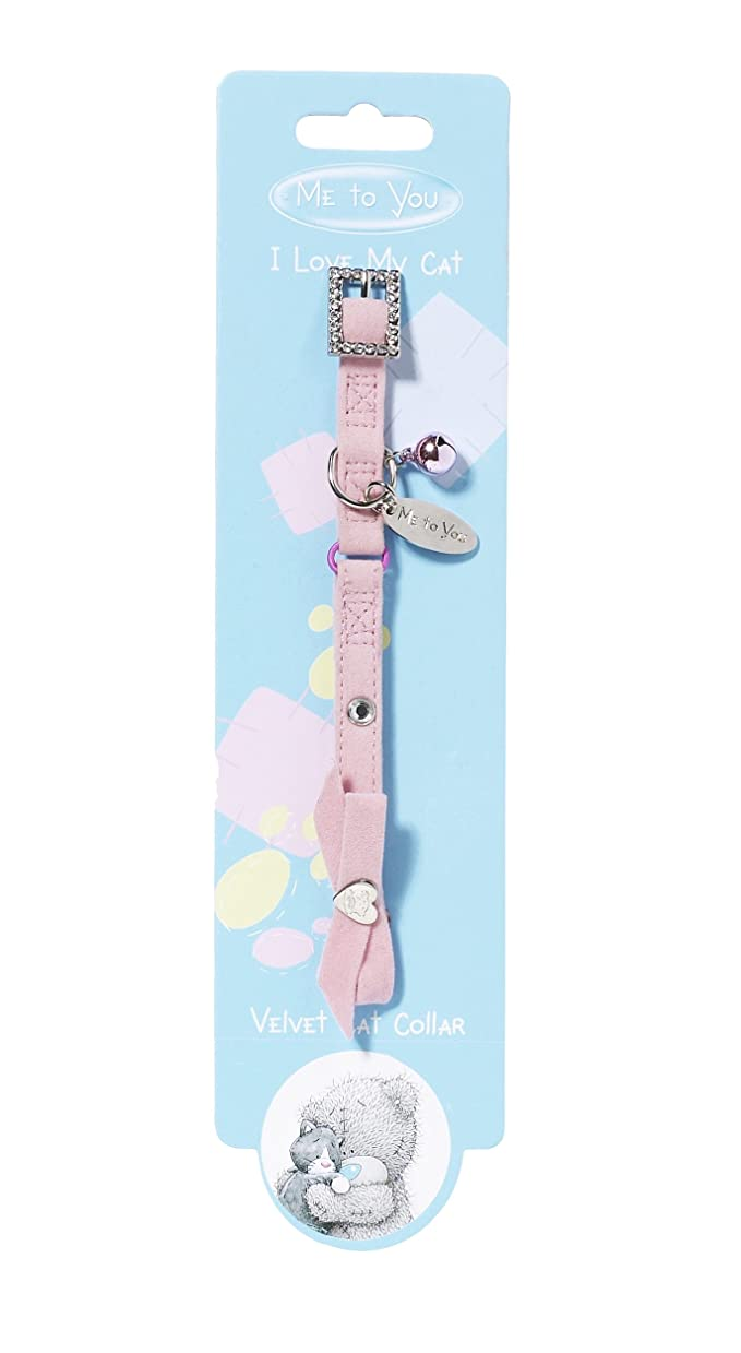 Me to You Collier pour chat en velours _ Parent