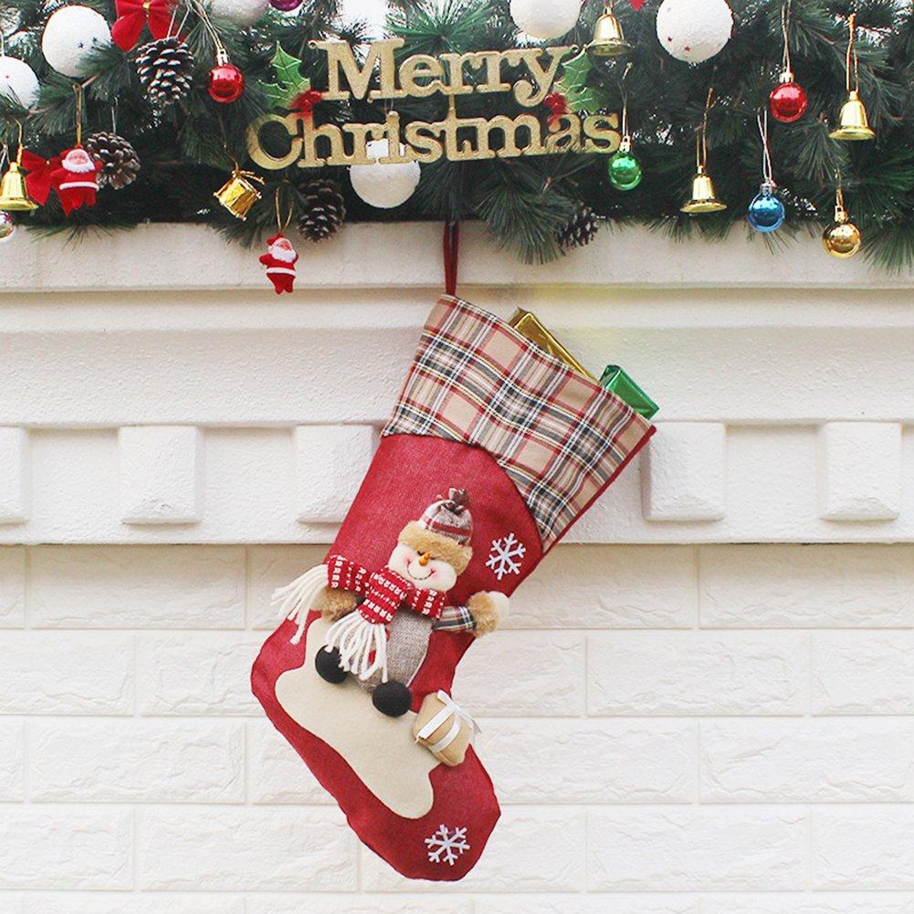 Weihnachten Socke Santa Claus Kinder Geschenk Tasche Kamin ...