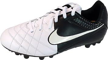Construir sobre Ilegible Montaña  Botas Nike Tiempo Natural IV LTR AG Junior -Blanco-: Amazon.es: Zapatos y  complementos