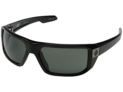 843bb85c9d Image Unavailable. Image not available for. Color  Spy Optic McCoy  Sunglasses Black ...