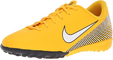 principalmente invadir adoptar  Amazon.com | Nike Kids Soccer Neymar Jr. Mercurial Vapor XII Academy Turf  Shoes (4.5 Big Kid M US) | Soccer