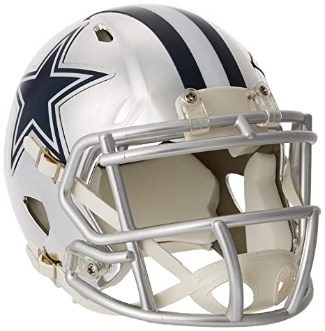 53688f96 Riddell Chrome Alternate NFL Speed Authentic Mini Size Helmet Dallas Cowboys