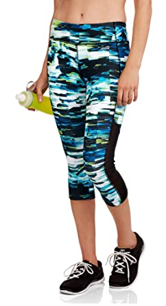 0d18123e19e34 Image Unavailable. Image not available for. Color: Avia Women's Active Performance  Capri Leggings ...