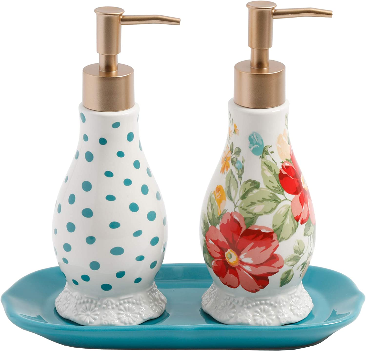 The Pioneer Woman Vintage Floral Soap and Lotion Set