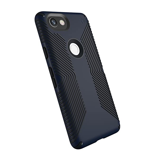 san francisco e39c2 59cde Speck Products Presidio Grip Cell Phone Case for Google Pixel 2 XL -  Eclipse Blue/Carbon Black